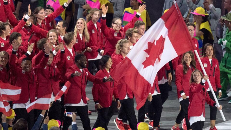 Opening ceremonies at Rio 2016