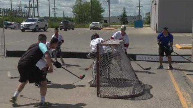 Street Hockey Tournament Supports Manitoba Heroes Charities Ctv News