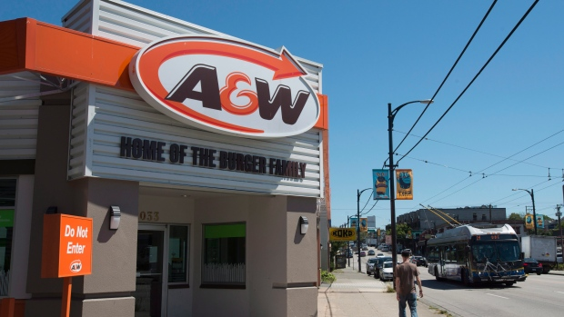 A&W Canada to quit using plastic straws by 2019