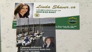 B.C. realtors condolence card