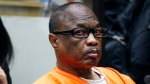 Lonnie Franklin Jr., a convicted serial killer known as the 'Grim Sleeper,' listens to emotional statements from family members of his victims before being sentenced to death in Los Angeles Superior Court Wednesday, Aug. 10, 2016. (Al Seib / Los Angeles Times via AP, Pool)