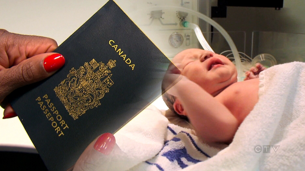 How to apply for passport new born in canada
