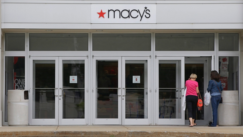 Macy's department store at the Hanover Mall in Hanover, Mass., on July 10, 2015. (Stephan Savoia / AP)
