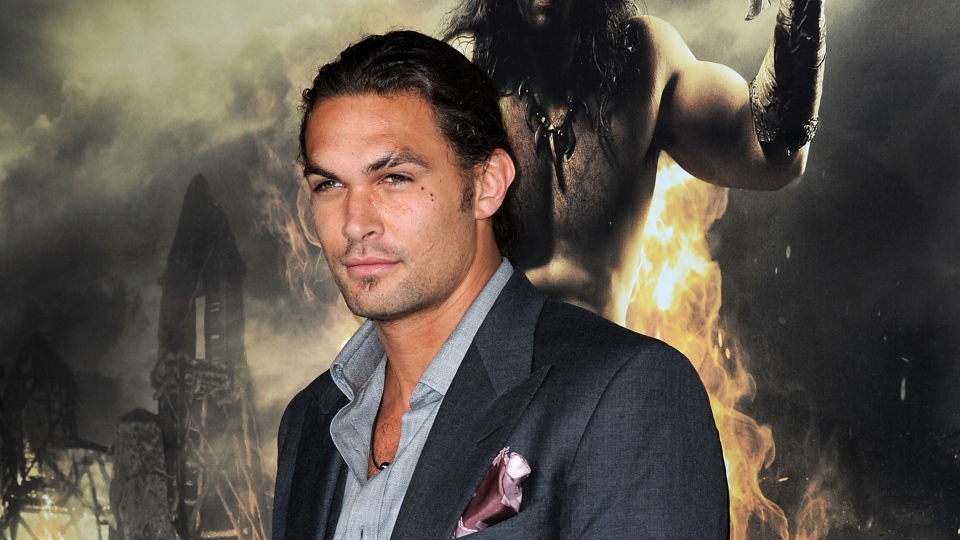 Actor Jason Momoa arrives at the Premiere of Conan the Barbarian, in Los Angeles, California, on August 11, 2011 (AFP PHOTO/VALERIA MACON)