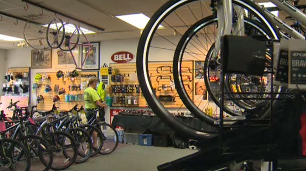 Eurotech Cycle, on Northmount Drive N.W., will close its doors for good in October
