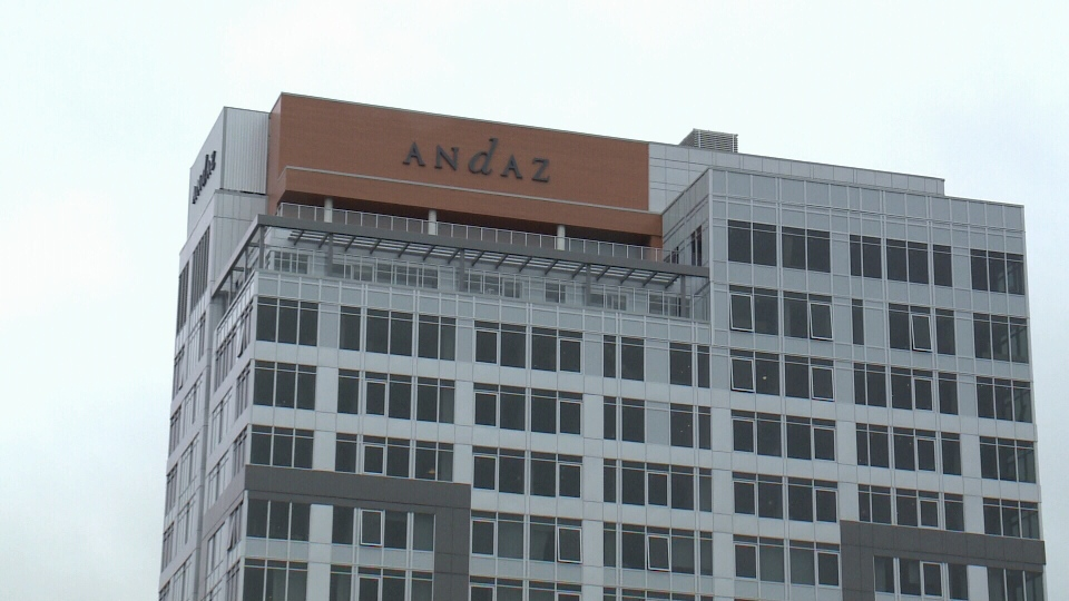 The Andaz Hotel in Ottawa's ByWard Market.