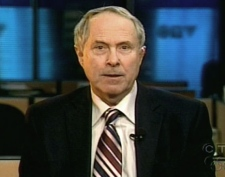 Professor and Former Conservative Campaign Manager Tom Flanagan speaks with CTV's Question Period on Sunday, Feb. 1, 2009.