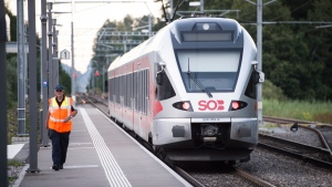 Swiss train attack suspect, female victim die of wounds
