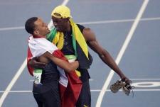 Bolt and De Grasse