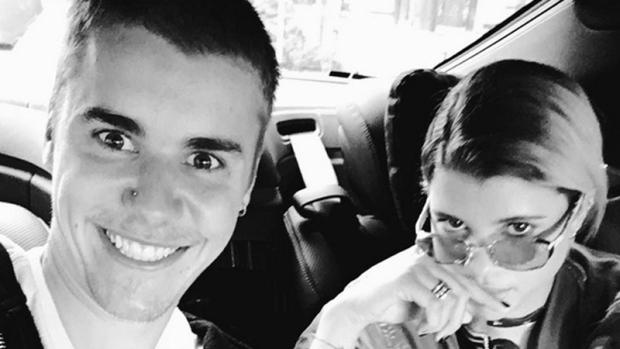 Justin Bieber and Sofia Richie (Instagram/ @justinbieber)