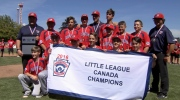 Hastings narrowly defeats Whalley and will represent Canada in Williamsport Pennsylvania at the  LLWS.