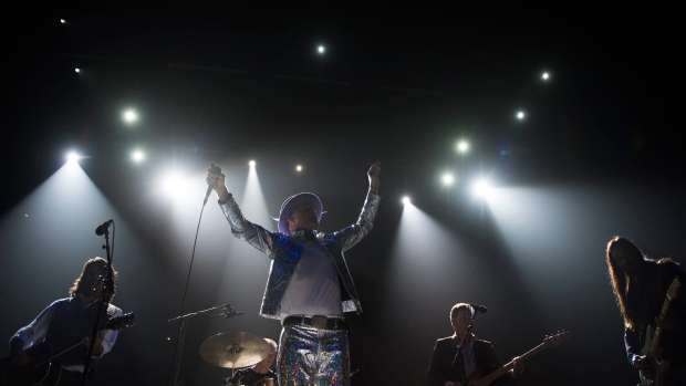 The Tragically Hip perform in Toronto