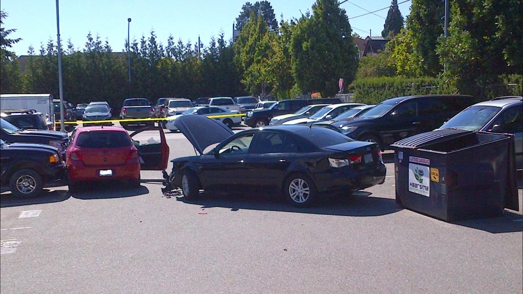 nanimo rcmp parking lot hit