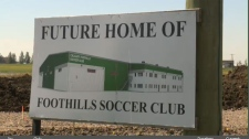 New indoor soccer complex will let Calgary athlete