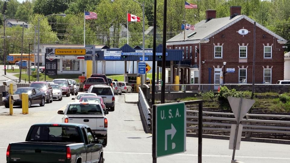St. Stephen border crossing