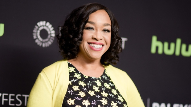"Shonda Rhimes attends the 33rd Annual Paleyfest: ""Scandal"" event in Los Angeles on March 15, 2016. (Photo by Richard Shotwell/Invision/AP, File)"