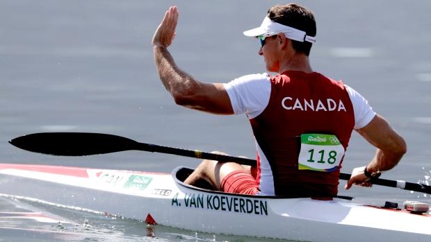 Adam Van Koeverden at Rio Olympics 2016