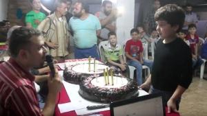 Syrian children honoured