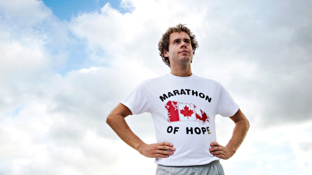 Nathan Carroll as Terry Fox