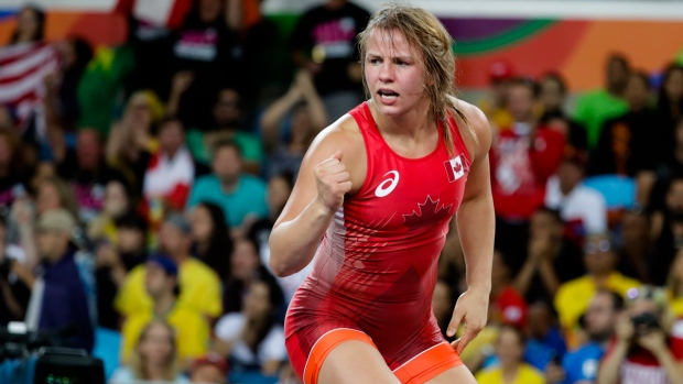 Based Erica Wiebe wrestles her way to Olympic gold