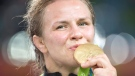 Olympic gold medal wrestler Erica Wiebe has been named the Alberta Ambassador for Sport and Active Living.