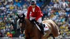 Canada's Eric Lamaze, riding Fine Lady 5