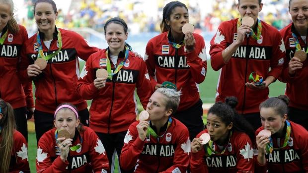 Canada soccer bronze