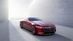 The Vision Mercedes-Maybach 6 promise a range of up to 500 kilometeres. © Daimler