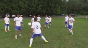 The London Marconi men's soccer team trains this week as they prepare for Ontario Cup action.