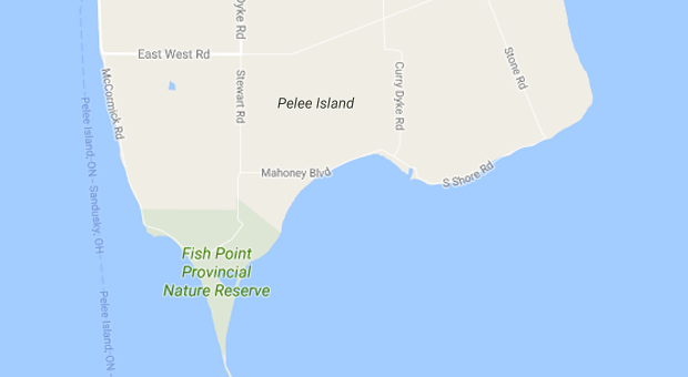 Pelee Island Google map