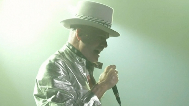 Tragically Hip Man Machine Poem tour