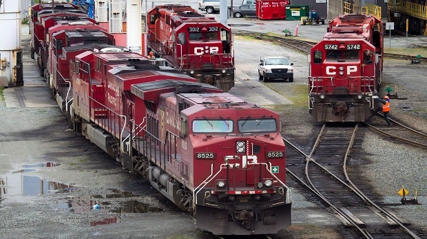 Officials Investigate After Canadian Pacific Freight Train