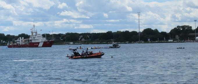 Port Huron Escorts >> Port Huron Float Down: Winds blow 1,500 U.S. boaters into Sarnia, Ont. | CTV News