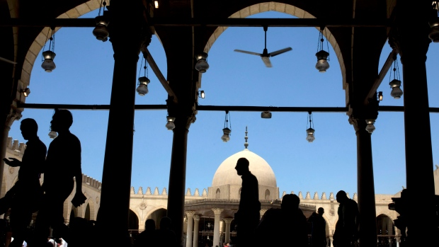 Amr Ibn al-As mosque, in Cairo, Egypt