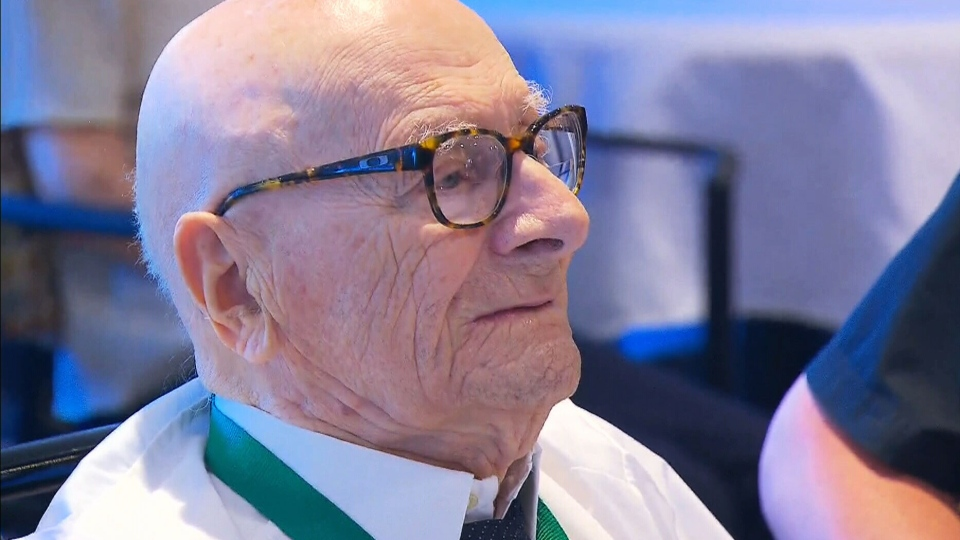 Zoltan Sarosy celebrated his 110th birthday on Aug. 23, 2016, making him Canada's oldest living man.