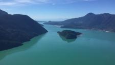 Algae bloom off BC coast