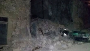 There are so far no reports of casualities after a magnitude 6.2 earthquake hit central Italy on Wednesday, Aug. 24, 2016.