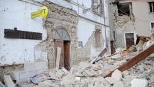 Rubble form 6.1 magnitude quake in central Italy