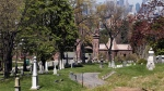 A cemetery is shown in this May 2, 2013 file photo. (AP / Mary Altaffer)
