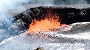 Extended: Stunning footage of Kilauea volcano