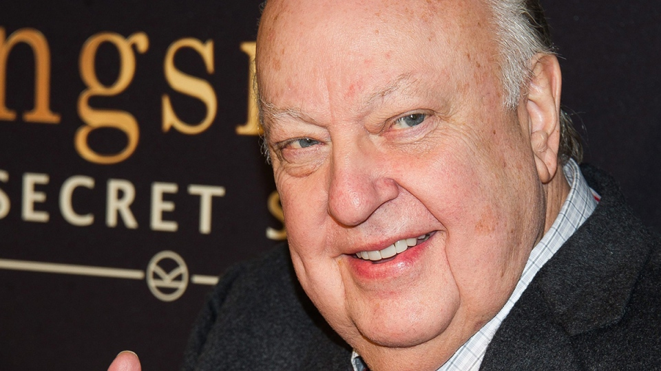 "Roger Ailes attends a special screening of ""Kingsman: The Secret Service"" in New York, Feb. 9, 2015. (Photo by Charles Sykes / Invision / AP)"