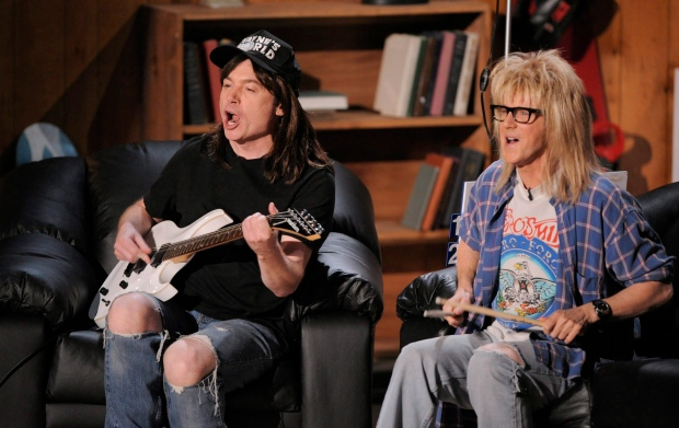 Mike Myers wouldn't be against revisiting 'Wayne's World'