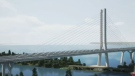 A large tower will be the main visual element of the new $4.2 billion Champlain Bridge, expected to open in December, 2018.