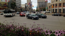 Portage and Main traffic study