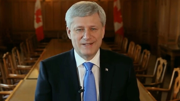 Stephen Harper announces his resignation as MP of Calgary-Heritage via Facebook, Friday, Aug. 26, 2016.