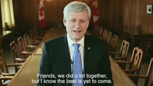 CTV News Channel: Stephen Harper steps down as MP