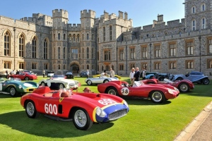 The Concours of Elegance 2016 will be held in the grounds of Windsor Castle. (Concours of Elegance)