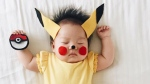 Laura Izumikawa dresses up her 4-month-old baby, Joey Marie Choi, as pop culture icons while she naps. (lauraiz/Instagram)