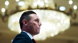 Ontario Progressive Conservative Leader Patrick Brown speaks to the Canadian Club in Toronto on Tuesday, June 7, 2016. THE CANADIAN PRESS/Nathan Denette