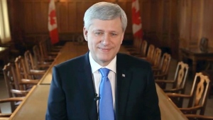 CTV National News: Harper's quiet goodbye